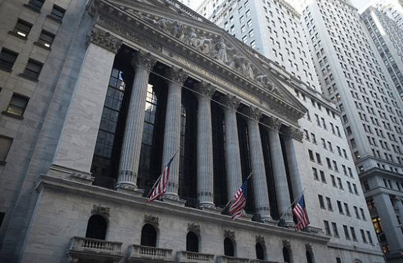 Нью-Йоркская фондовая биржа, фасад, фото Getty Images