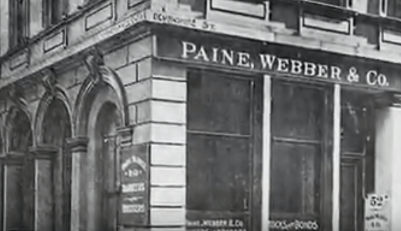Здание брокерской конторы «Paine, Webber & Co» в Бостоне