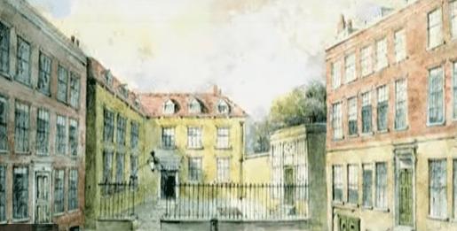 Здание банка N M Rothschild & Sons, начало XIX века