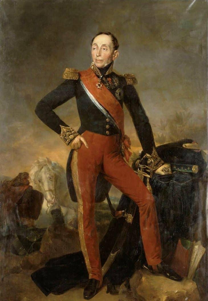 Эммануэль Груши (1766-1847)  портрет кисти Ж.С. Руйяра